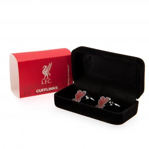 Baby Gift Baskets Liverpool : Liverpool fc club crest cufflinks lfc gifts for men